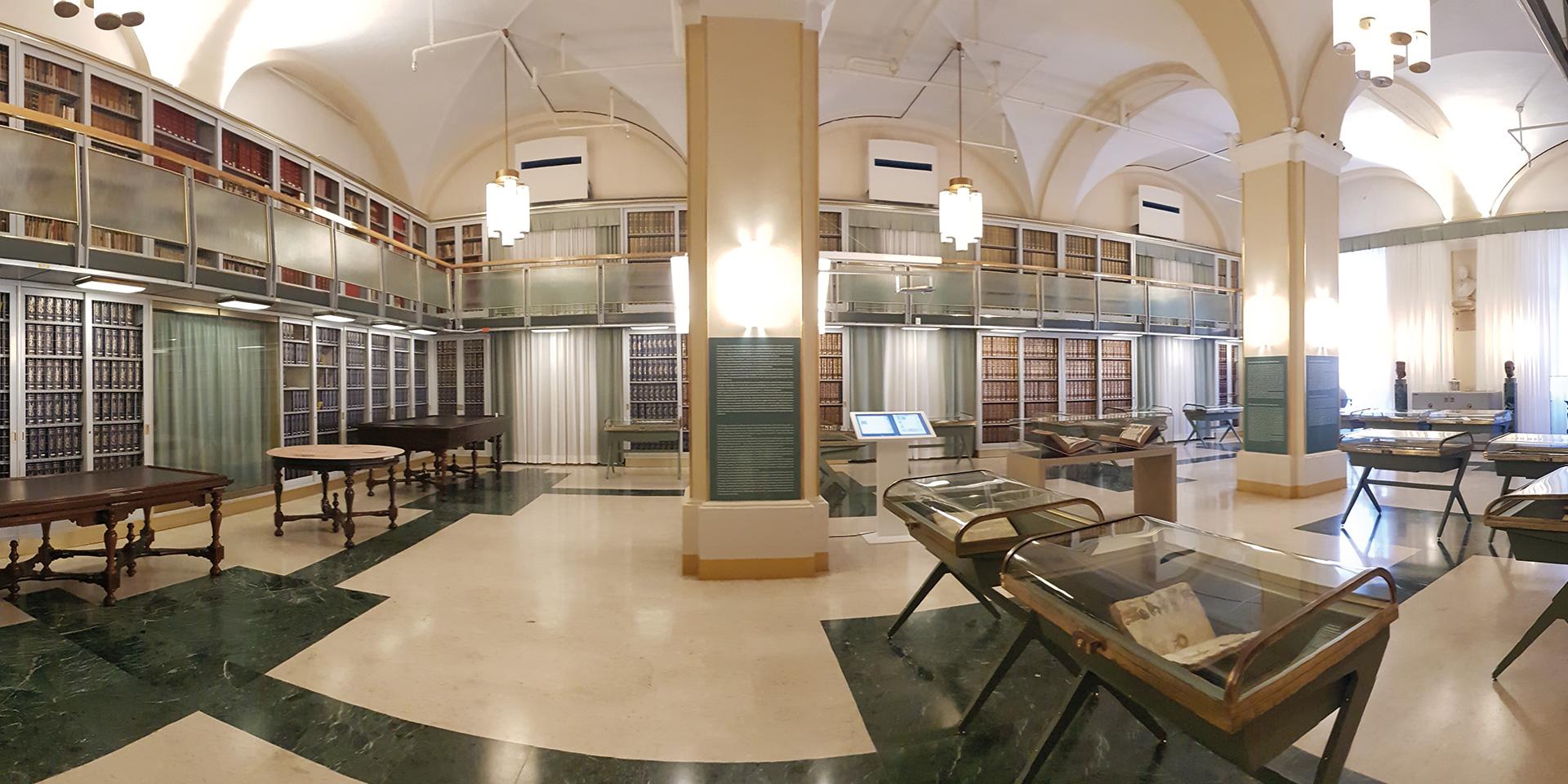biblioteca universitaria estense
