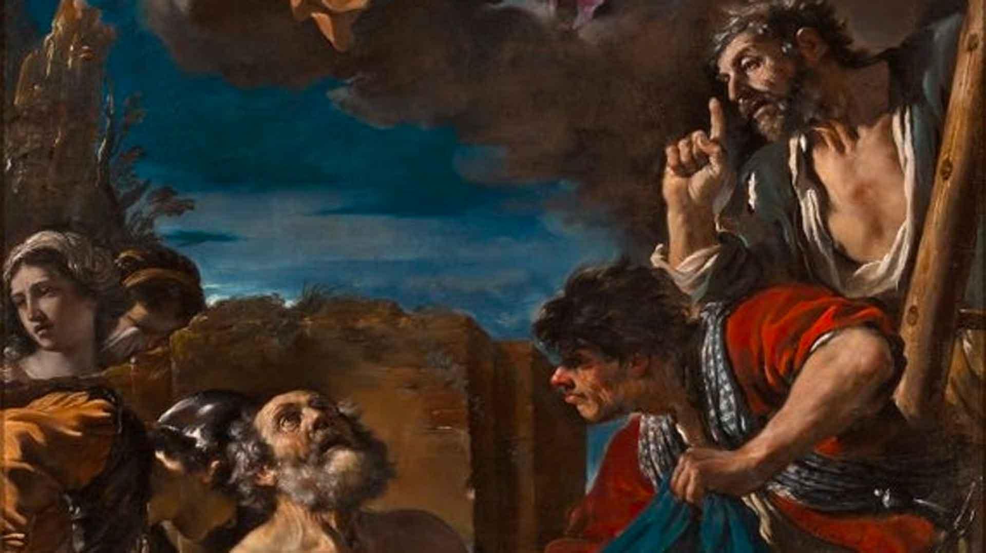 Il Martirio di san Pietro del Guercino - gallerie estensi opere